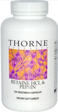 Thorne Research, Betaine HCL
